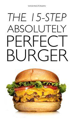 Secrets to making the most amazing burger ever | Washingtonian