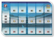 Adrenalyn XL Road to UEFA Euro 2016, França - Game Board