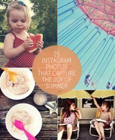 25 Instagram Photos That Capture the Joy of Summer via Babble.