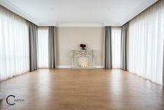 Casa pe parter in Corbeanca | CoArtCo House Foundation, Design Case, Home Fashion, Architect Design, Curtains, House Styles, Tips, Home Decor, Houses