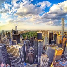Amazing view over Central Park in NYC, seen from the Top Of The Rock (Rockefeller Plaza). Pic by @kingthom89. #GoPro #city #NYC #newyork #centralpark #travel #wanderlust