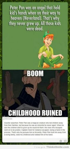 Peter Pan Ruined, Twice<<<< stop!