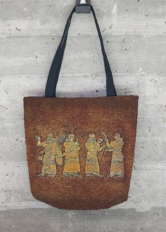 VIDA Tote Bag - The Annunakis Tote Bag by VIDA nMOymuN3w