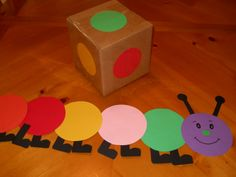 Learning and Teaching With Preschoolers: Caterpillar Transition Game