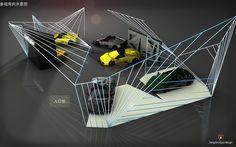 Car Showroom Design for Lamborghini | Flickr - Photo Sharing!