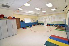 Our preschool's gymnasium Basketball Court, Preschool, Gym, Kid Garden, Kindergarten, Excercise, Preschools, Kindergarten Center Management, Gymnastics Room