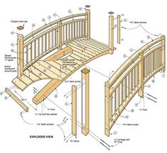 Great Should An Individual Plan To Learn Woodworking Skills, Tryu2026 Hereu0027s A Neat  Arched Garden Bridge ... Pictures