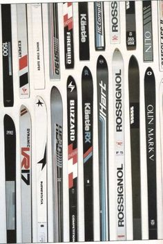 Skis in the 70's