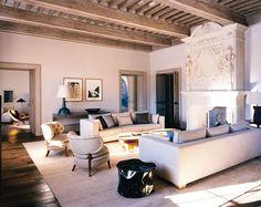 Living room design by Pierre Yovanovitch