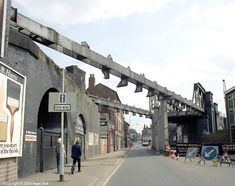 Northgate Street bridge under demolition, GCR, Leicester Under Bridge, Steam Railway, Nottingham, City Streets, Leicester, Past, 70s Toys, Louvre, Cuttings
