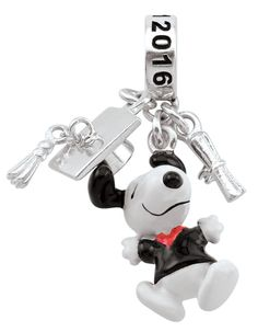 Peanuts Key Charm Collection Lie Down SNOOPY Keychain Chain