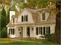 CURB APPEAL – another great example of beautiful design. french colonial home.