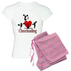 I Heart Cheerleading Pajamas > Cheerleading > Leatherwood Design. Women's Pajama Set Unisex bottom is 100% cotton (4 oz) & has no fly and no pockets Black Plaid, Pink Plaid and Lumb…