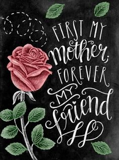Mom Gift Chalk Art Mothers Day Gift Chalkboard Art by TheWhiteLime Chalkboard Print, Chalkboard Designs, Chalkboard Pictures, Chalkboard Doodles, Chalkboard Lettering, Chalkboard Ideas, Chalkboard Quotes, Mothers Day Signs, Barn Wood Frames