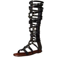 Via Spiga Women's Sumner Gladiator Sandal ($84) ❤ liked on Polyvore featuring shoes, sandals, via spiga shoes, via spiga sandals, roman gladiator sandals, gladiator sandals and gladiator shoes