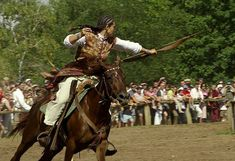 """mounted """"Hun"""" or Magyar archer from SCA site on Huns"""