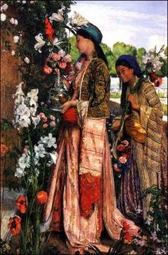 19th C. Turkish - still trying to finish the costume inspired by this painting