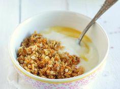 Recette Granola aux graines de sésame & lin