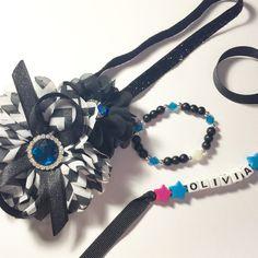 Custom Bracelet and Headband Set