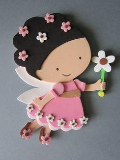 Pintura en el dedal: Goma eva: ¡un cuento de hadas! Kids Crafts, Foam Crafts, Preschool Crafts, Diy And Crafts, Arts And Crafts, Paper Crafts, Felt Dolls, Paper Dolls, Foam Sheets