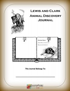 Free Lewis and Clark Animal Discovery Journal Page 4th Grade Social Studies, Social Studies Classroom, Teaching Social Studies, Teaching History, Forest School Activities, Teaching Activities, Washington State History, Lewis And Clark Trail, World History Lessons