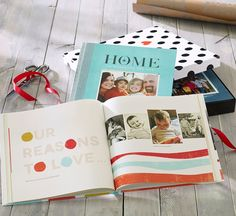 Create a photo book of newborn memories. Our reasons to love this holiday season is...   Shutterfly