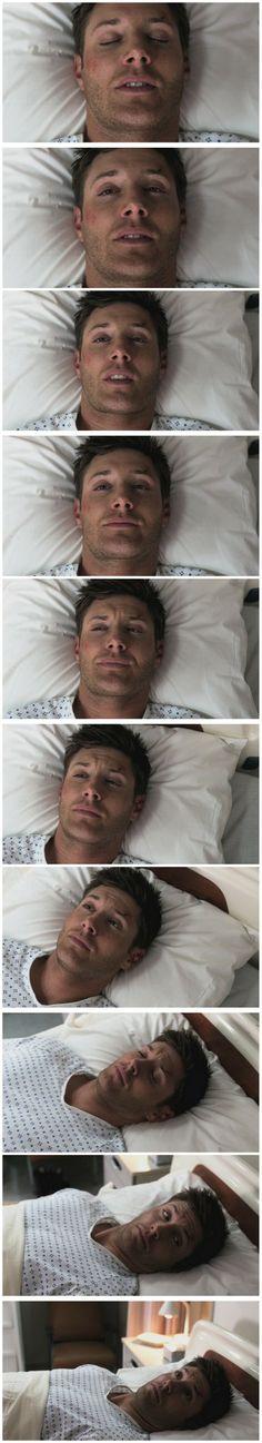 I love high Dean... <3 7x03 The Girl Next Door #SPN #Dean