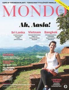 Mondo 8/2015   Mondo.fi Sri Lanka, Bangkok, Vietnam, Cover, Asia, The Moon