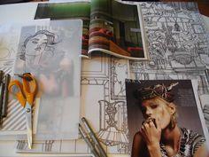 Swedish fashion illustrator and artist, Liselotte Watkins