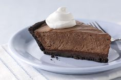 Made-Over Triple-Chocolate Dream Pie recipe via kraftrecipes.com