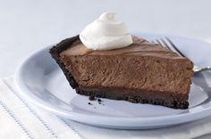 healthy, low calories, low cholesterol, low carbohydrates, low sodium, low sugars, WW, Plus, diabetic, dessert, pie, chocolate, chocolate cream pie, recipe