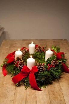 Advent time The week in advance of some sort of Halloween parties Costume outfit Occasion by myself in addition to … Christmas Advent Wreath, Easy Christmas Decorations, Christmas Room, Christmas Flowers, Christmas Candles, Christmas Centerpieces, Holiday Wreaths, Winter Christmas, Christmas Crafts