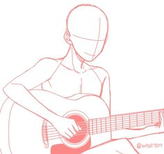 guitar pose reference | © to artist~