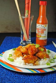 Firecracker Chicken | Juanita's Cocina (hmm, try baking it, with a little less sugar)