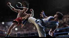 Joe Higashi VS Kim from King of Fighters By Marcel Nilo