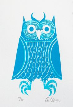 The Blue Owl by Ben Newman