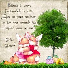 Uma mensagem de Feliz Páscoa.