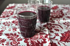 Some things to do with all that Concord grape juice!