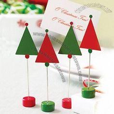 Xmas Tree Place Card Holder Suppliers China Xmas Tree Place Card E2P8Eguo