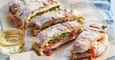Grill Sandwich, Panini Sandwiches, Wrap Sandwiches, Sandwich Recipes, Italian Sandwiches, Lunch Recipes, Cooking Recipes, Tailgating Recipes, Picnic Recipes