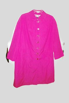 1960s mod fleet street rain / shine berry coat new old stock with tags