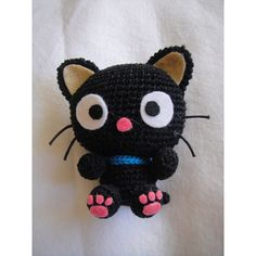 Amigurumi Pattern Chococat - Crochet Kitty cat pattern - PDF- Patrón amigurumi.