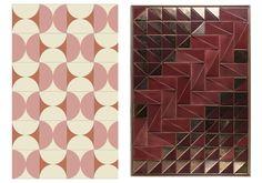 Décodez l'esprit Gypset: Tejo tiles panel at ELLE france online #ELLE #ELLEdecoration #ELLEFRANCE