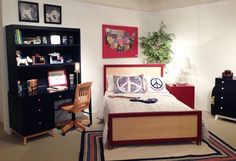 Sleek boy's room furniture by Young America! #hpmkt
