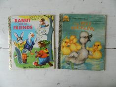 Little Golden Book Rabbit and His Friends and The by HomeEcClass
