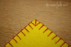 unbelievably excellent blanket stitch tutorial - I never knew how good a blanket stitch could be! LOL