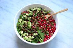raw food vegan recipes linzensalade