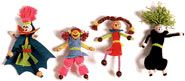 crazy pipe cleaner dolls