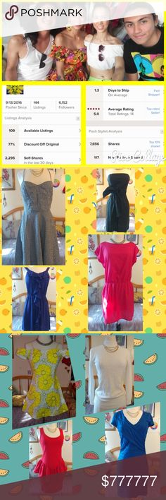 Lots of cute closet and boutique low-cost ??Finally made to top seller & 1.3 day ship out time. ?? Lots of adorable, cute, sexy, quirky items to chose from and lots more coming in the next day or 2. For the last min shoppers. I got you. I will work with offers and ship out as fast as possible. Thank you all for your support Other