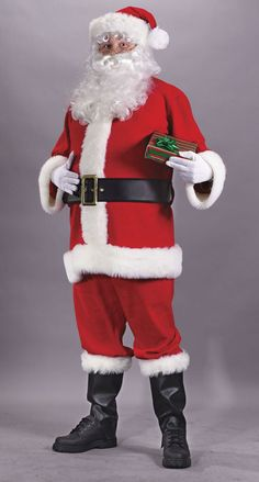 Costumes For All Occasions FW7500 Santa Suit Economy. Looking for the best selection of Costumes for any occasion Then you have come to the right place. Choose this item made by the premier manufacturer for costumes props and theatrical wear. We supply ice shows circuses TV amusement parks Broadway and almost every major Hollywood movie studio with all their theatrical needs. From funny masks and accessories to unique life like mascot and animal costumes we have them all. Satisfaction…